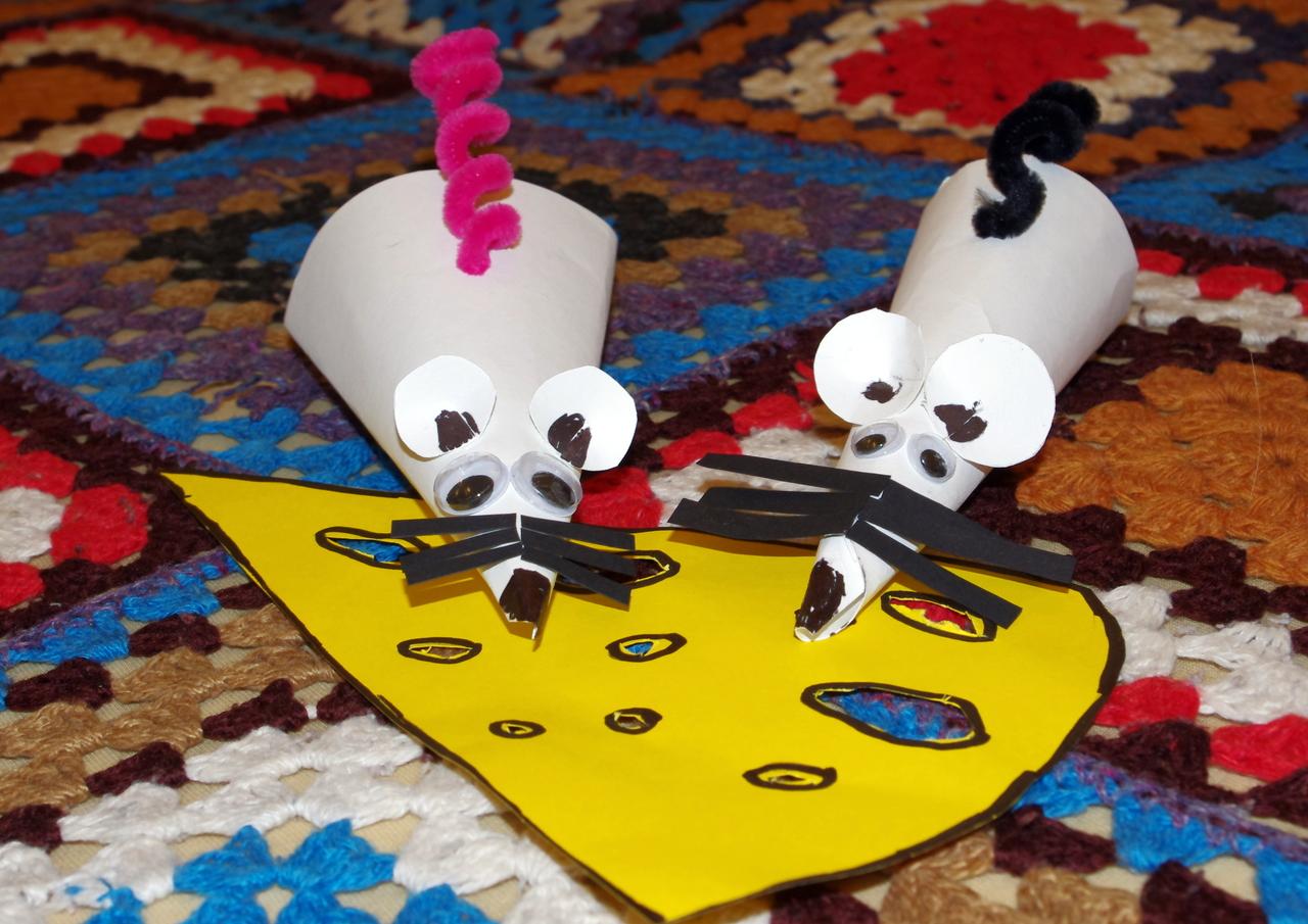Лёгкие поделки своими руками для детей из бумаги