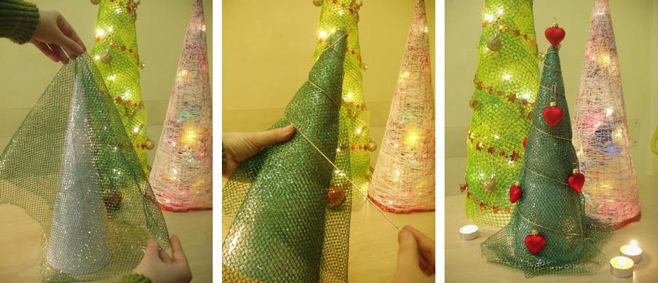 Новогодний на елку своими руками